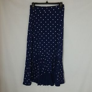 Talbots petite maxi skirt